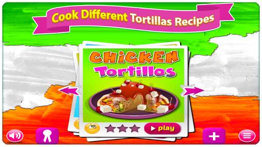 baking tortilla 4 - cooking games screenshot 1