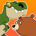 Baby Puzzles: Dinos & Animals icon