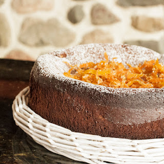 Passover Gâteau au Chocolat – Chocolate Orange Cake