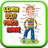 Body Parts Of Name For Kids