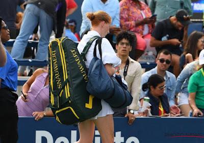 """Alison Van Uytvanck : """"Il ne faut jamais oublier le quart de finale"""""""