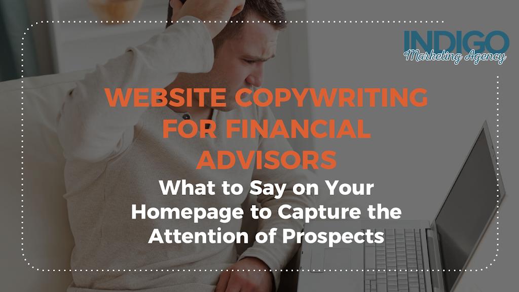 Website Copywriting for Financial Advisors