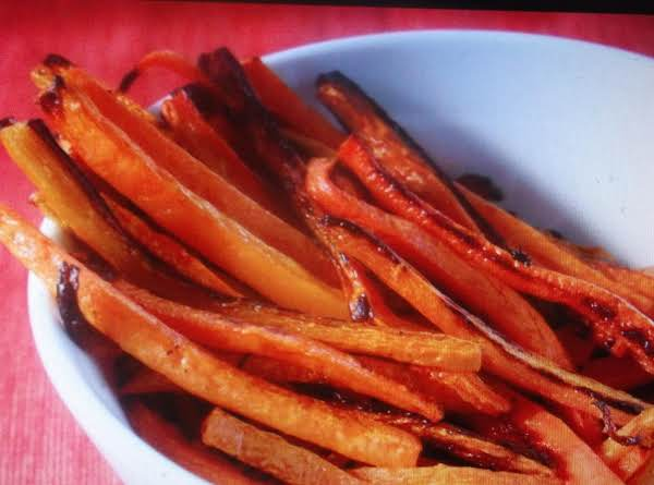 Eddie's French Fried Carrot Strips Recipe