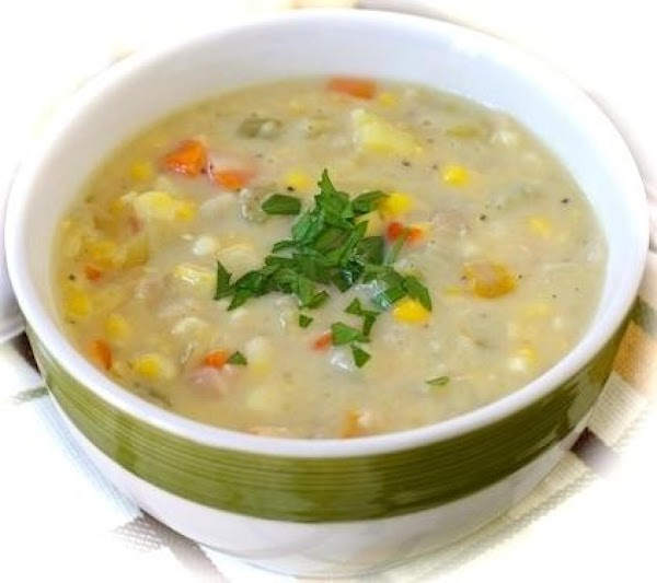 Fish And Corn Chowder Recipe