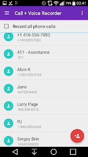 CVR Call Recorder Pro- screenshot thumbnail