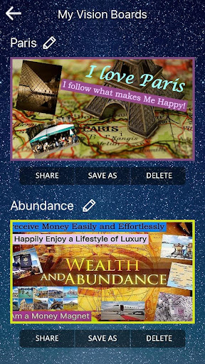 Screenshot for Subliminal Vision Boards® App in United States Play Store