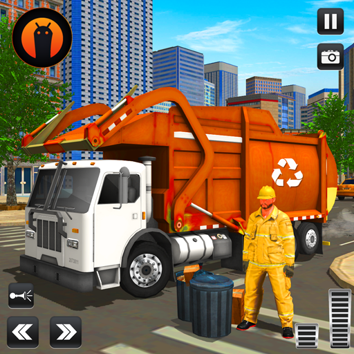 City Cleaner Garbage Truck: Truck Driving Games