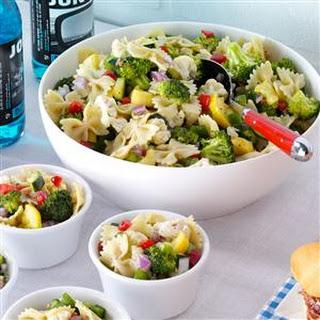 Garden Bow Tie Salad