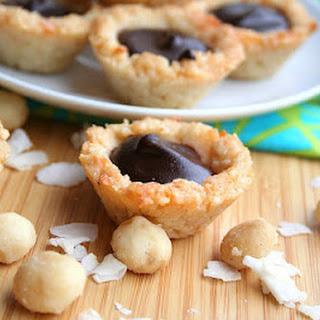 Chocolate Macadamia Coconut Tarts