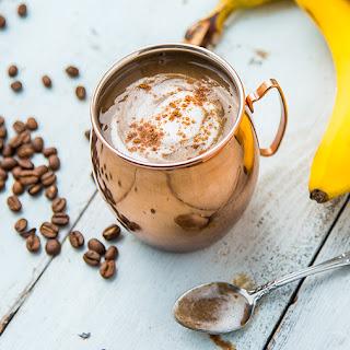 Banana Latte Coffee Smoothie.