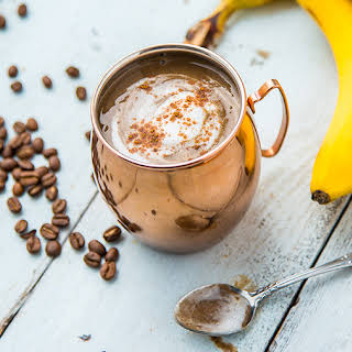 Banana Latte Coffee Smoothie.