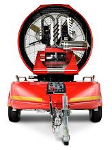 Photo: Velkokapacitní ventilátor Easy 4000 - přívěs - zadní pohled
