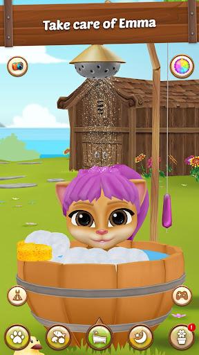 Emma the Cat Gardener: My Virtual Pet 2.1 screenshots 1