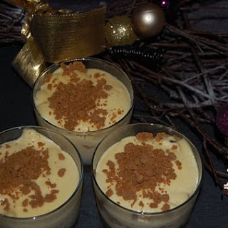 White Chocolate and Gingersnap Tiramisu.
