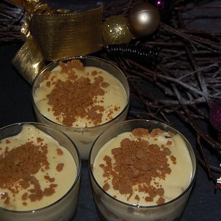 White Chocolate and Gingersnap Tiramisu