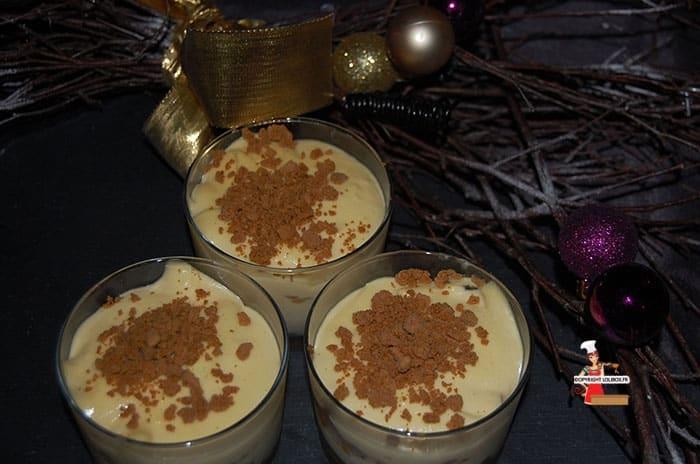 White Chocolate and Gingersnap Tiramisu Recipe
