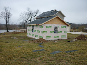 Photo: We had JUST finished shingling the shed roof about 8 hours before the storm hit...ripped off some shingles.