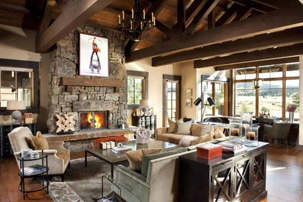 Dosis arquitectura una casa de monta a que irradia calor - Apartamentos de montana ...