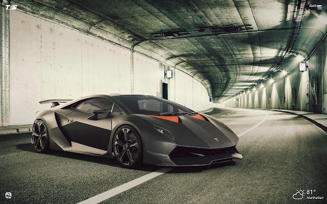 Super Sports Cars HD Wallpapers New Tab Theme
