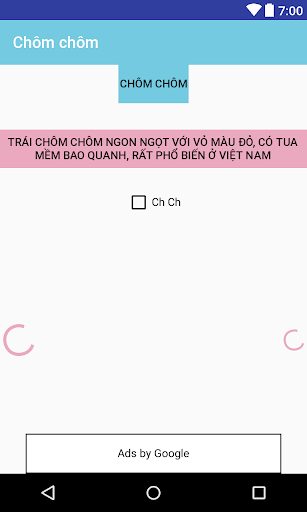 Chôm chôm screenshot 1