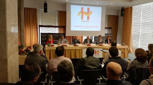 Imagen de la Asamblea Anual de Hortiespaña de ayer