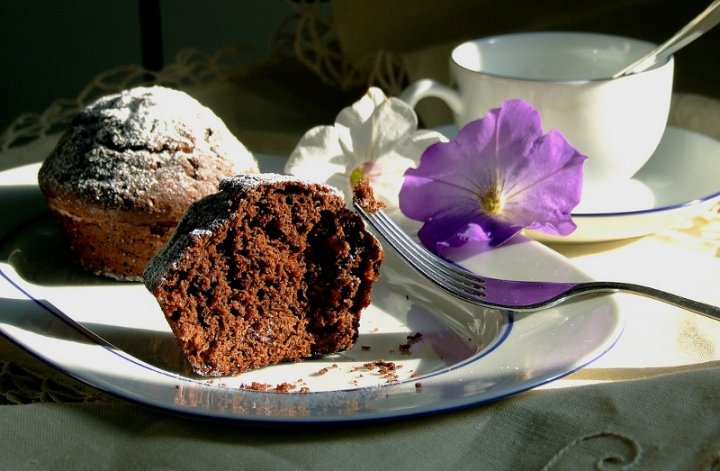 Muffin al cioccolato. di Angela1964