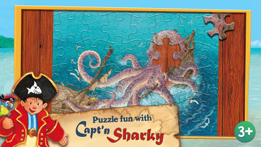 Puzzle fun with Capt'n Sharky