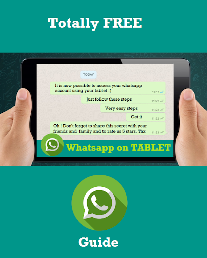 Guide WhatsApp to Tablet for PC