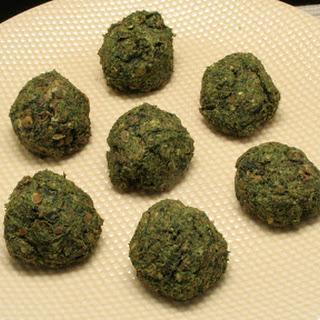 Daniel Fast Meatballs.