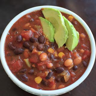 Organic Vegetarian Chili Recipes