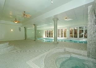 Photo: Upper Brookville, NY Indoor Pool, Spa, And Whirlpool Room