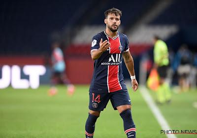 Juan Bernat de retour avec le PSG