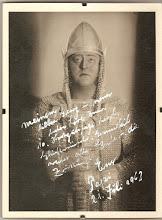 """Photo: Franz VÖLKER /Tenor), geb. 31.3.1899, als """"Lohengrin"""""""