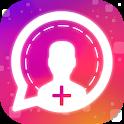 Followers on Instagram icon