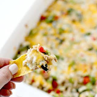 Cheesy Mexican Dip.