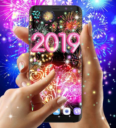 Happy new year 2020 live wallpaper 13.8 screenshots 6