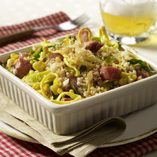 Egg Noodles and Pork Casserole