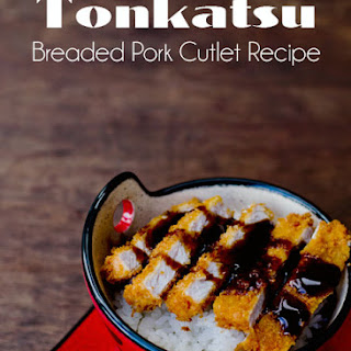 Tonkatsu Breaded Pork Cutlet Recipe