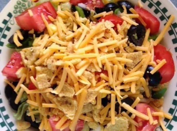 Southwest Layered Pasta Salad Recipe
