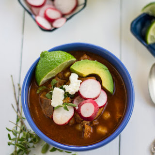 Pozole Rojo (Mexican Stew with Pork and Hominy) Recipe