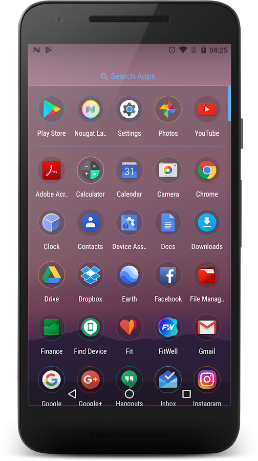 Nougat Launcher: Pixel Edition- screenshot