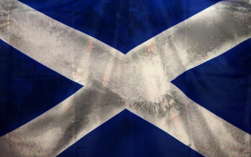 Scotland Flag Live Wallpaper