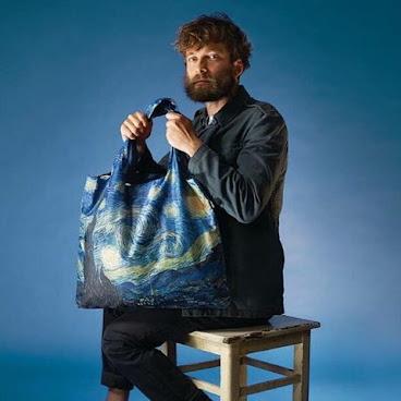 LOQI 星夜環保袋 Starry Night Tote Bag