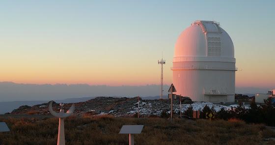 Calar Alto, en la red de astronomía terrestre más grande de Europa