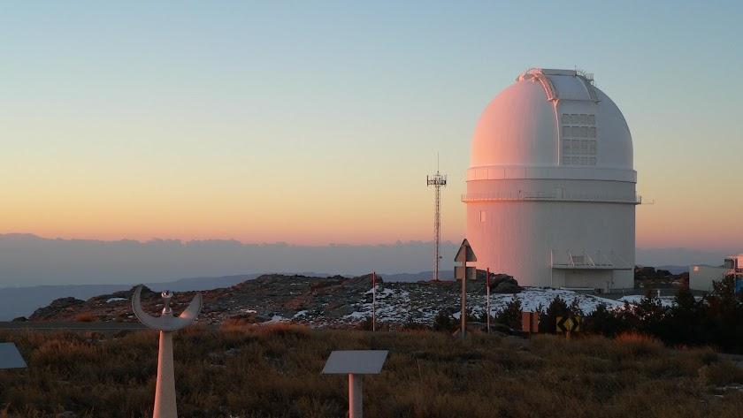 El Centro Astronómico Hispano Alemán de Calar Alto (AIE-CAHA), situado en la Sierra de los Filabres.