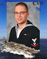 Photo: Official USS Ronald Reagan photo 2011 somewhere in the Arabian Sea while deployed in a war zone.