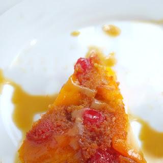 Jackfruit Upside-Down Cake.