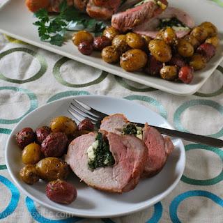 Prosciutto and Spinach Stuffed Pork Loin