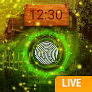Firefly Fingerprint Lock Screen for Prank