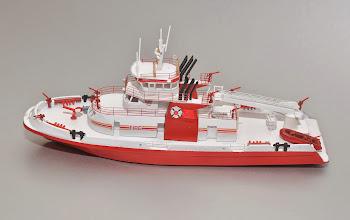 Photo: FDNY Fireboat Three Forty Three Port Profile